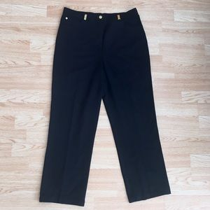 St. John Sport Navy Blue Basic Twill Pants 12